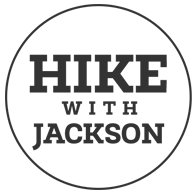 Hike with Jackson logo black